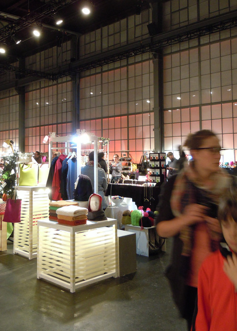 "these pictures are from the ""heilige Bimbam"" a big fancy christmas market 2012 in the Maag Halle in Zurich"