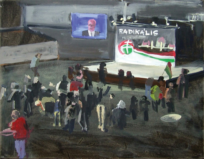 "National Plein-air - ""Radical"" (at Jobbik)"