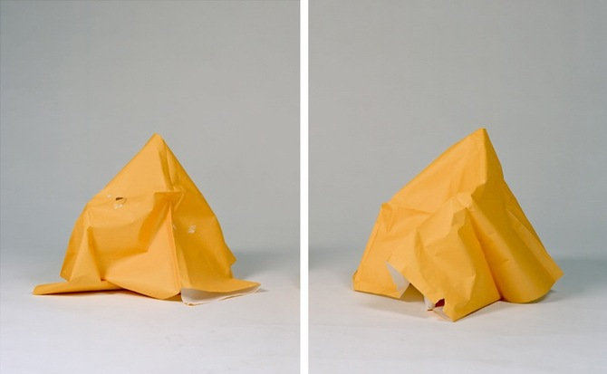 Untitled (Study in Yellow I and II)