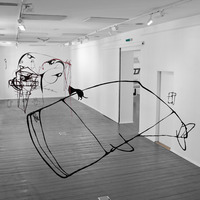 Drawings in space (2,5 borderline exhibition, 2013.)