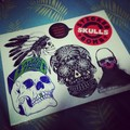 Sticker Bomb - Skulls book - thumbnail