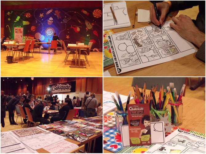Comic Jam in Szolnok Chocolate Festival