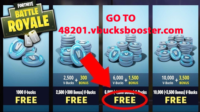Free V Bucks Fortnite No Human Verification