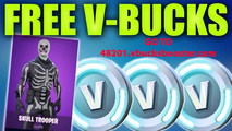 V-Bucks Codes For Fortnite - thumbnail