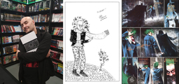 Kovács Milán gave the comic with my drawing to Grant Morrison in Dublin :) - thumbnail