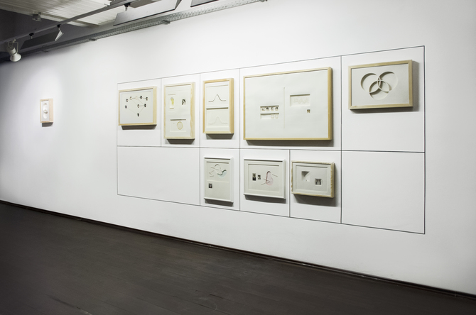 installation view - works on paper
